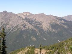 Views from Marmot Pass.