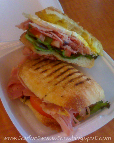 Ham and Brie Panini (Muffin Plus)