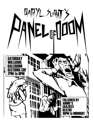 Surat's Panel of DoOM at AWA 2009