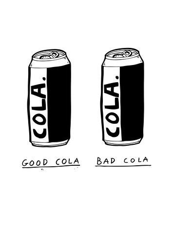 good cola bad cola