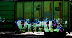 vital (mightyquinninwky) Tags: road railroad green geotagged graffiti crossing sleep tag graf tracks indiana railway tags tagged southernindiana urbanart railcar cult rails weathered boxcar graff graphiti dnb blacktop railroadcrossing vital csx ralo trainart paintedtrain railart heyer spraypaintart enz ohiorivervalley movingart ctfk size21 taggedtrain evansvilleindiana taggedboxcar paintedboxcar vanderburghcountyindiana csxboxcar nurrenbernroad paintedrailcar geo:lon=87627425 taggedrailcar geo:lat=37943419 nurrenbernroadcrossing oldbnboxcar