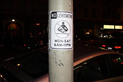 No Levitating
