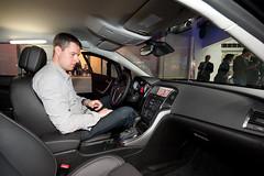 Astra-Blog-User didi im neuen Opel Astra