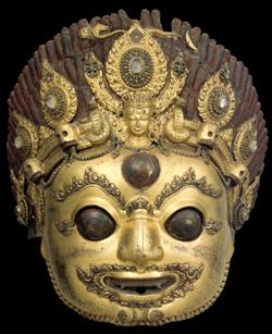 Bhirava mask