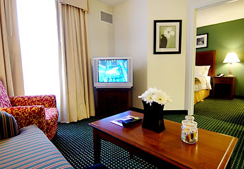 Residence Inn Grand Junction Suite Living Area
