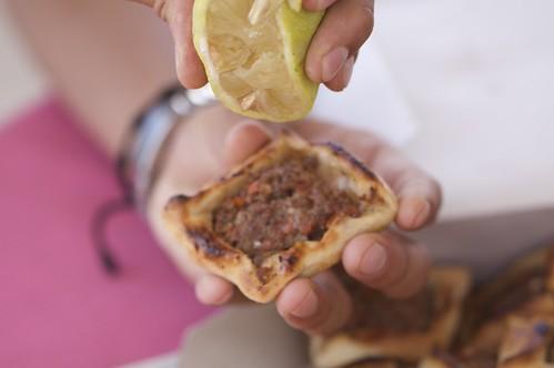 Sfiha lemon