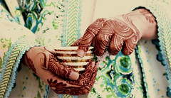 Heritage in my HandS ~ (made in U.A.E) Tags: blue brown green heritage cup canon hands uae culture tradition henna hold 7enna fnyal nagsh madeinuae jalabeyya