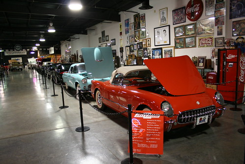 Floyd Garret Muscle Car Museum Corvette