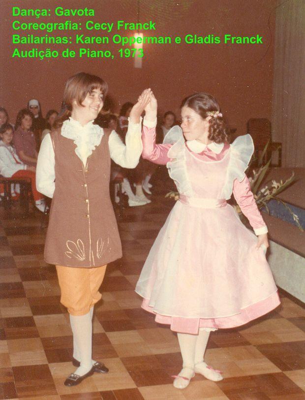 Gavota: primeira dança em 1973
