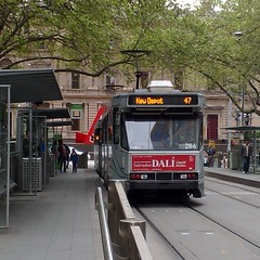 Tram 47 in Collins St