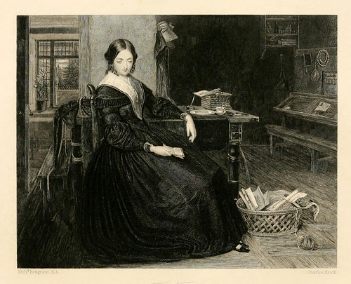 017-La profesora-The gallery of engravings (Volume 1) 1848