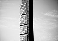 NYC - 8 ( CHRISTIAN ) Tags: city nyc newyorkcity sky urban blackandwhite bw ny newyork tower architecture skyscraper blackwhite tour noiretblanc manhattan nb midtown ciel madison metropolis mince thin ville noirblanc urbain megapolis mtropole gratteciel abigfave mgapole