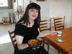 Celebrate (Paula Satijn) Tags: black tv dress lace cd skirt tgirl tranny million cocktaildress
