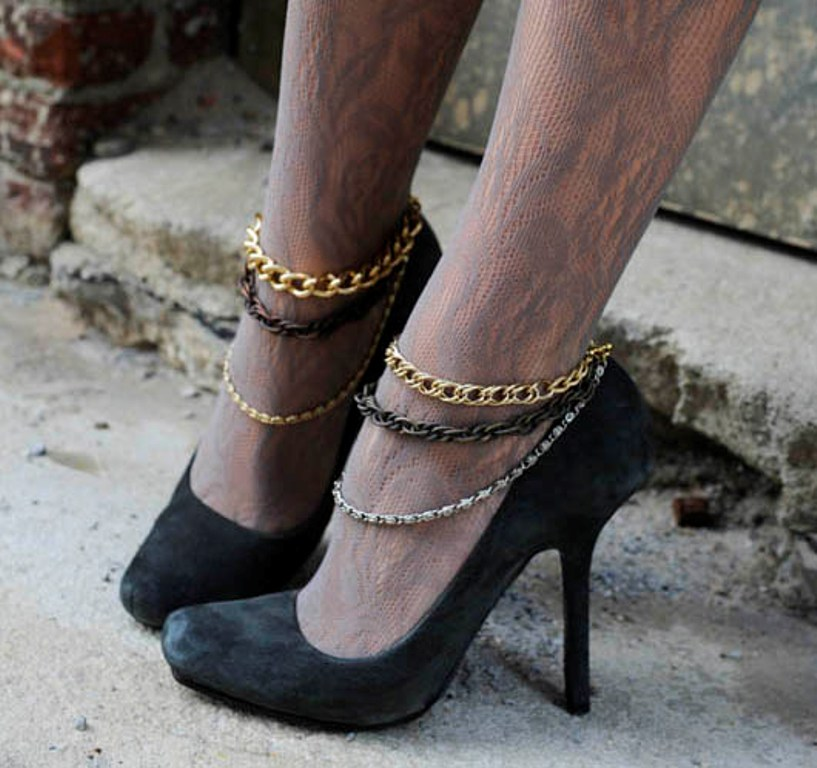 TheGlamourai DIY Lanvin shoe jewelry 2