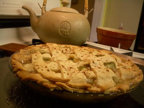 green tomato pie