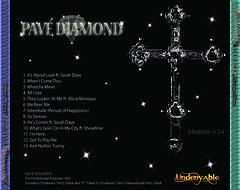 Pave Diamond Back Cover