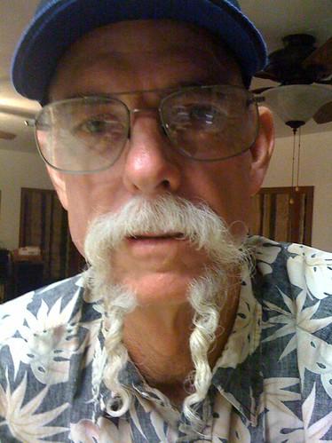 Amazing mustache!
