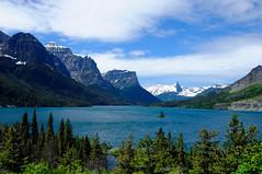 Wild Goose Island (Phil's Pixels) Tags: mountains nature islands landscapes montana lakes scenic glacierpark wildgooseisland