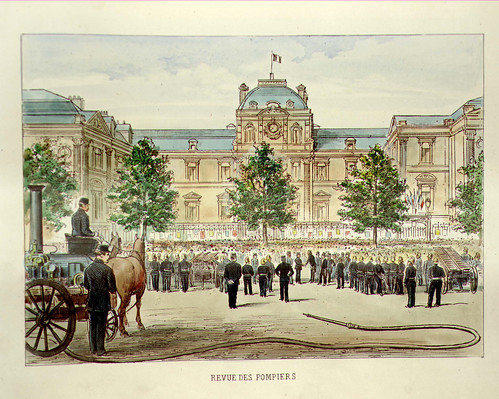 014- Parada de bomberos-Lille ancien monumental Edouard Boldoduc  1893