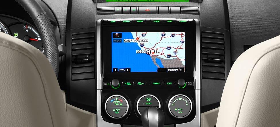 2010 Mazda 5 navigation system