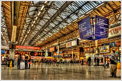 HDR - Victoria Station II .@.1100x733 (Pawel Tomaszewicz) Tags: uk trees wallpaper england sky building london colors beautiful architecture clouds photoshop canon buildings eos photo europe angle image photos unitedkingdom wide picture wideangle ps images x 1200 800 hdr fable hdri iphone victoriastation pawel cs3 ipad architektura budynek neatimage chmury 3xp photomatix budynki greatphotographers eos400d 1200x800 photoshopcs3 tomaszewicz paweltomaszewicz tomaszpluk