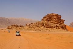Wadi Rum desert (guido camici) Tags: red desert jeep pentax wadirum sigma adventure jordan rosso montagna deserto giordania avventura sigma1770 sigmalenses sigma1770f28 sigma1770mmf2845dcmacro pentaxk10d mountaun