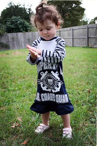 Coast Guard t-shirt dress