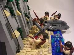 "The Project: ""Scaling the Cliffs"" (PhiMa') Tags: lego nazi wwii ww2 rangers normandy dday worldwar2 utahbeach omahabeach pointduhoc 2ndrangerbattalion brickarms batteryplacement alliedexpedtionaryforce"