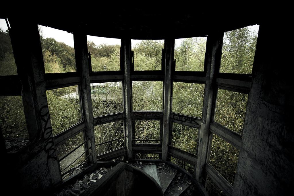 Sanatorium du Vexin - Grande baie vitrée