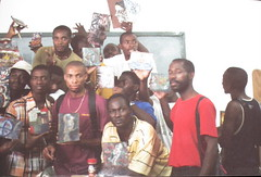 Encaustic Students 2, Haiti