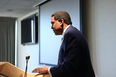 Keynote speaker John Burris