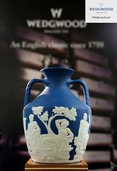 Wedgwood - Portland Vase - White on Saxon Blue Jasper (Wedgwood250th) Tags: jasper harrods wedgwood wedgewood gbr portlandvase