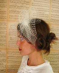 11-12 338 (LoBoheme) Tags: veil 1950s headband hairpiece 1112 fascinator russianveil frenchveil