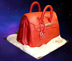 birkin bag cake (Svetlana's cakes) Tags: birthday cake bag 3d funny shaped shape fondant birkin