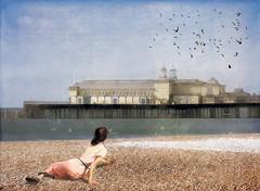 Christina's Pier (lakewentworth) Tags: ocean england birds pier christina dream wyeth hastings christinasworld anrews