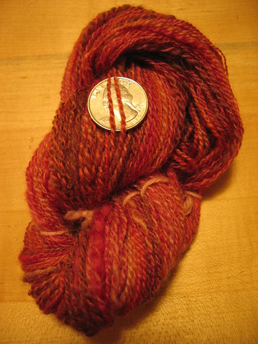 Finished one ounce skein
