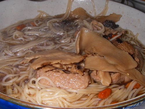 Duck with Chinese Angelica Herbal Rice Noodle Soup