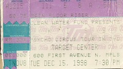 12/15/98 Kiss/Econoline Crush @ Minneapolis, MN (Ticket)