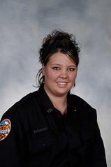 Firefighter Brittney Spurlock