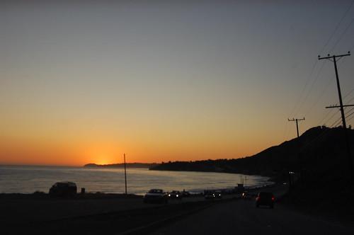 PCH, sunset