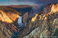 The Other Grand Canyon (Phijomo) Tags: morning nature water sunrise river landscape outdoors scenic canyon waterfalls yellowstonenationalpark wyoming yellowstoneriver usnationalpark grandcanyonofyellowstone canon24105mmf4l thegrandcanyonofyellowstone phijomo philipjmonahan canon5dmkii