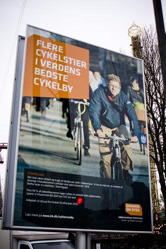 Flere cykelstier