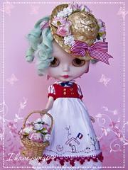 Oh La La~ Custom Blythe Doll OOAK