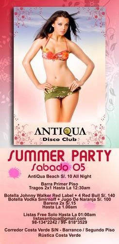Summer Party - Antiqua Disco Club