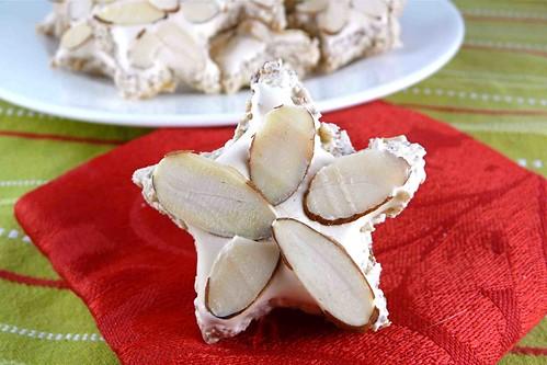 Cinnamon & Almond Meringue Star Cookies (Zimtsterne) Recipe