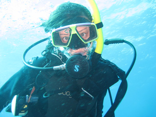 Me, diving