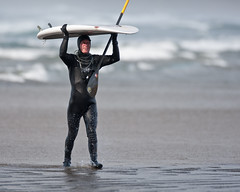 Russ Garing, SUP Standup Paddle Boarder.  Surf...