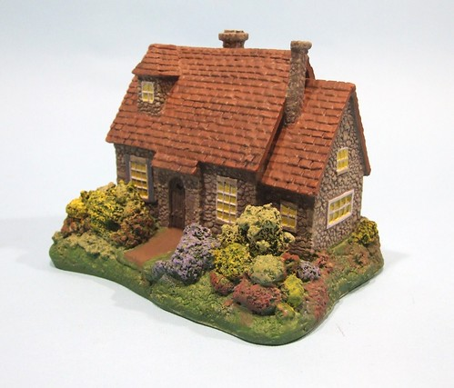Finished Kinkade Cottage