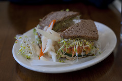 Sandwich Peacefood Cafe