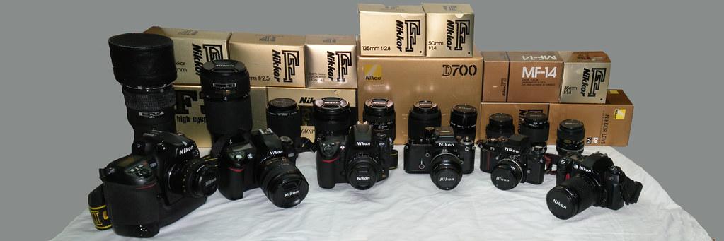 Nikon Cameras and Lenses